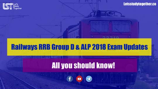 RRB Group D & ALP 2018 Exam