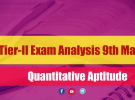SSC CGL Tier-II Exam Analysis 9th March 2018