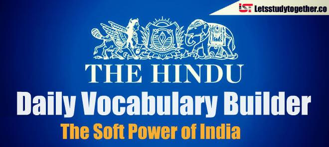 Daily Vocabulary Builder PDF - 21st April 2018