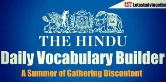 Daily Vocabulary Builder PDF - 26th April 2018