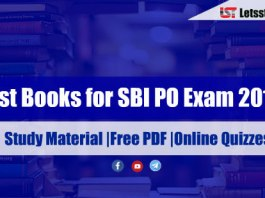 Best Books for SBI PO Exam 2018 - Study Material |Free PDF |Online Quizzes