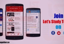 Join Let's Study Together (LST) on Facebook Page/Groups, Telegram & Youtube