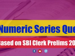Alpha-Numeric Series Questions - Based on SBI Clerk Prelims 2018