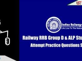 RRB Railway Group D & ALP Practice Questions Set   Day-15