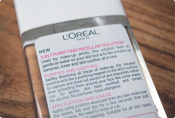 L'Oreal Micellar Solution