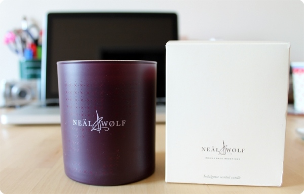 Neal and Wolf Candle