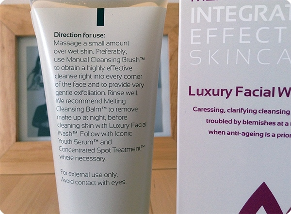 Luxury Facial Wash