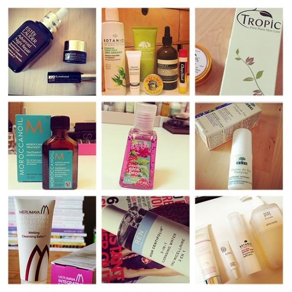 Grid of Skincare