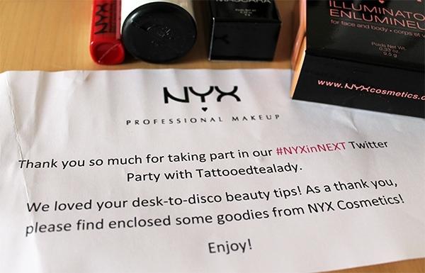 NYX in NEXT