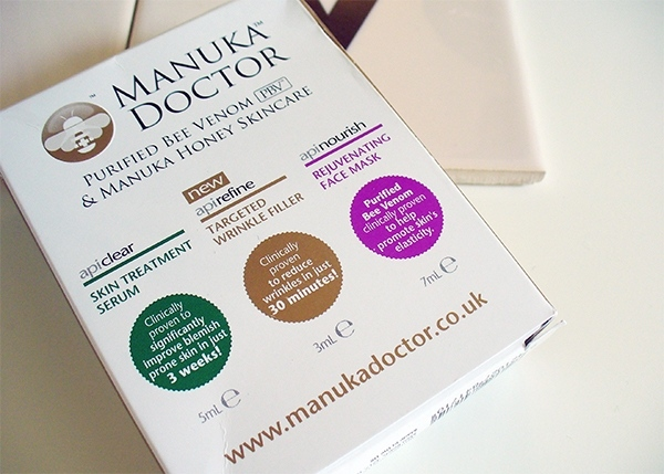 3 Skincare Samples from Manuka Dotor