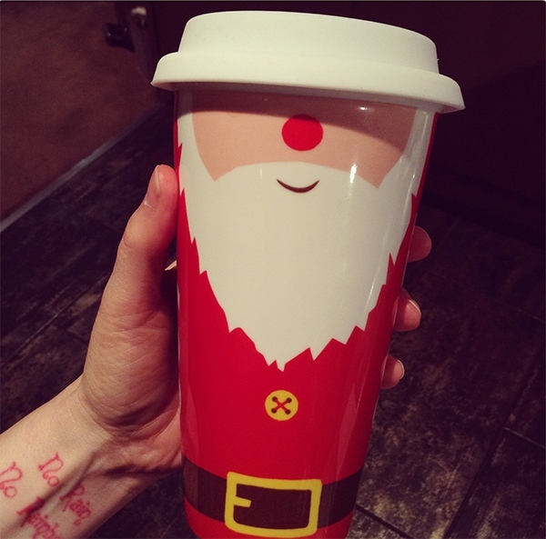 Costa Coffee Christmas Travel Mug