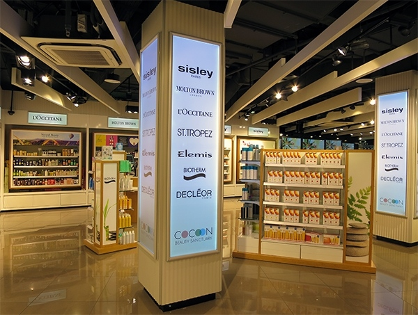 Beauty Brands at Manchester Airport