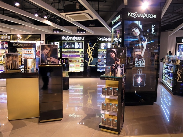 YSL Counter Manchester Airport
