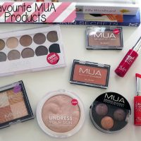 Favourite MUA Products