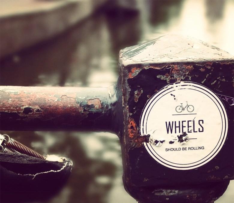Wheels should be rolling