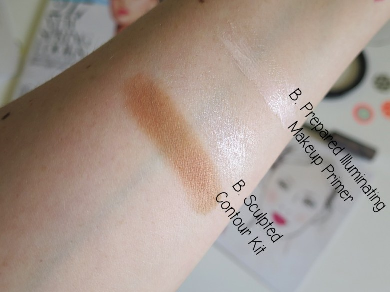 B. Cosmetics Product Swatches