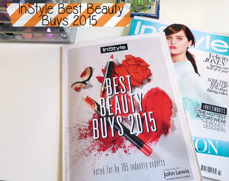 InStyle Magazines Best Beauty Buys of 2015
