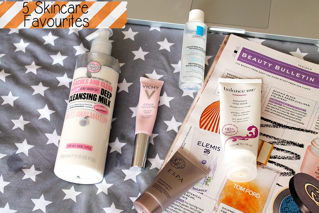 5 current skincare favourites