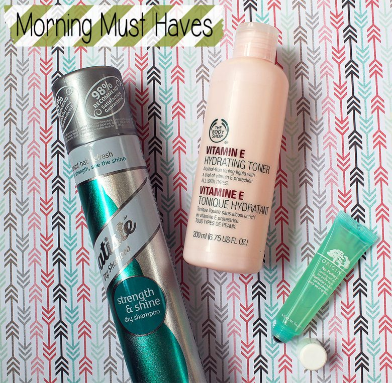 My Morning Must Have Products