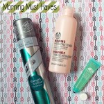 3 Morning Must Have Products