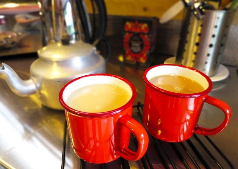 Cabin Tea Break