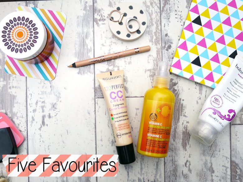 Five Favourites Products Summer Edit