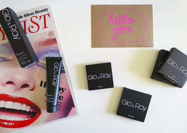 Glo & Ray Makeup Packaging