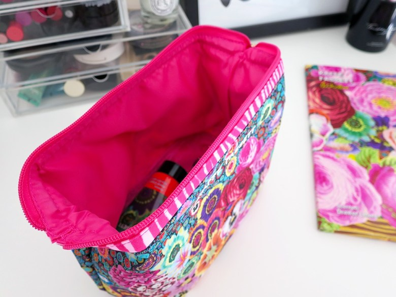 Kaffe Fassett Makeup Bag