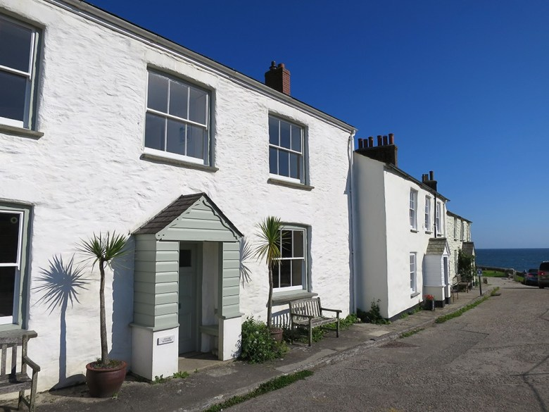 White Cornish Cottages