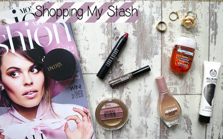 Shopping My Makeup Stash