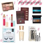 Christmas Party Makeup Wishlist