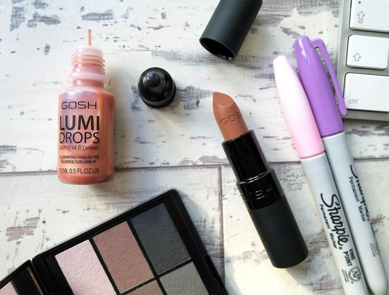 GOSH New Makeup Releases 2016