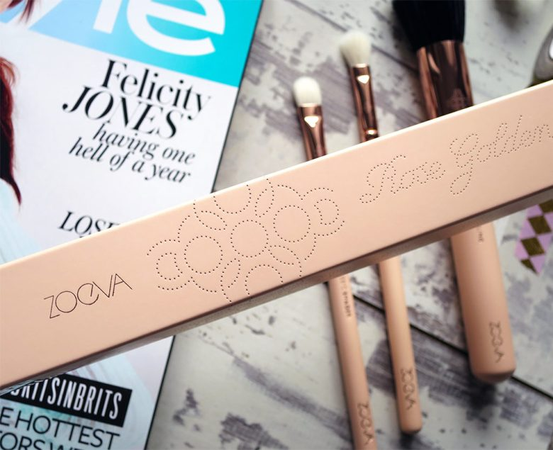 Zoeve Rose Golden Makeup Brushes