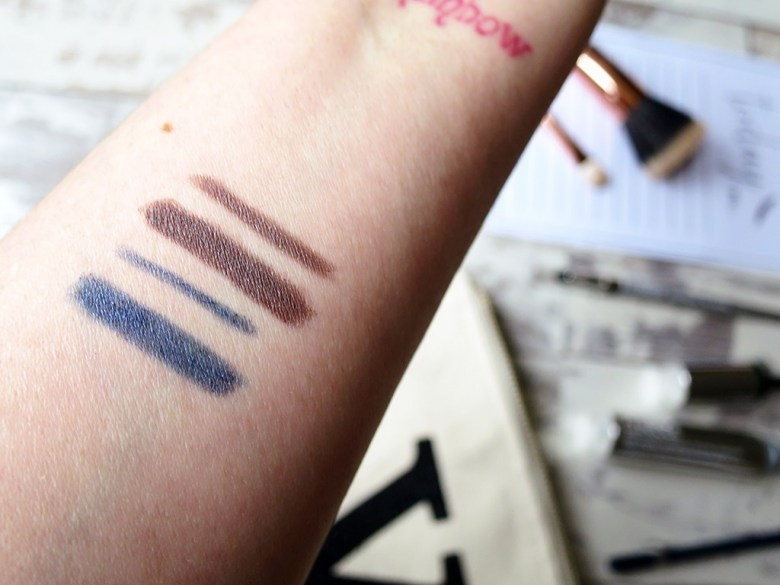 Clinique Eyeliner Swatches