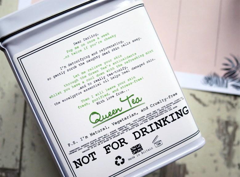 Queen Tea Green Tea Body Scrub