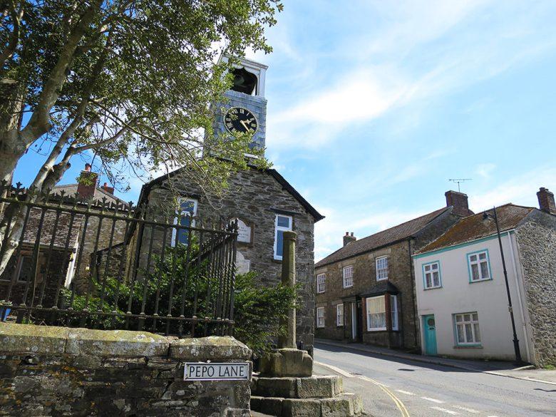 The village Church Grampound Cornwall
