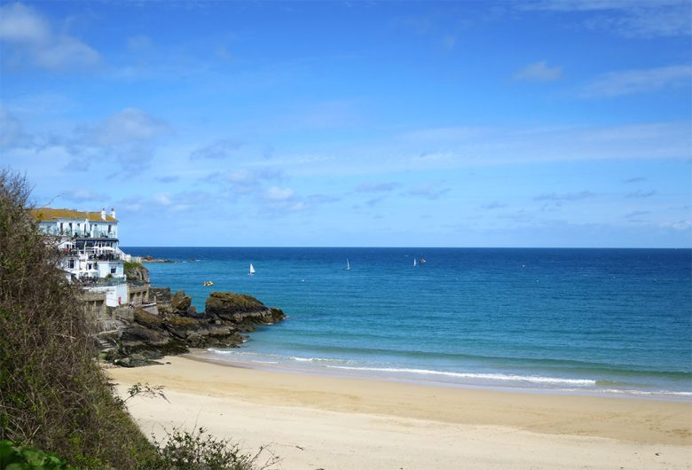 Golden Sandy Beaches in St Ives Cornwall