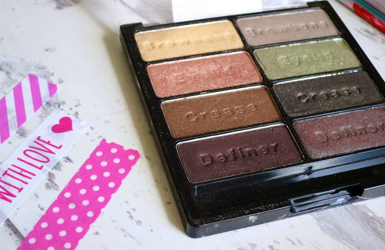 Comfort Zone Eyeshadow Palette