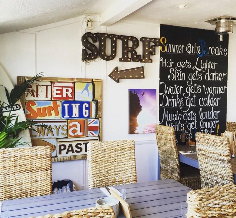 Beach Cafe Newquay