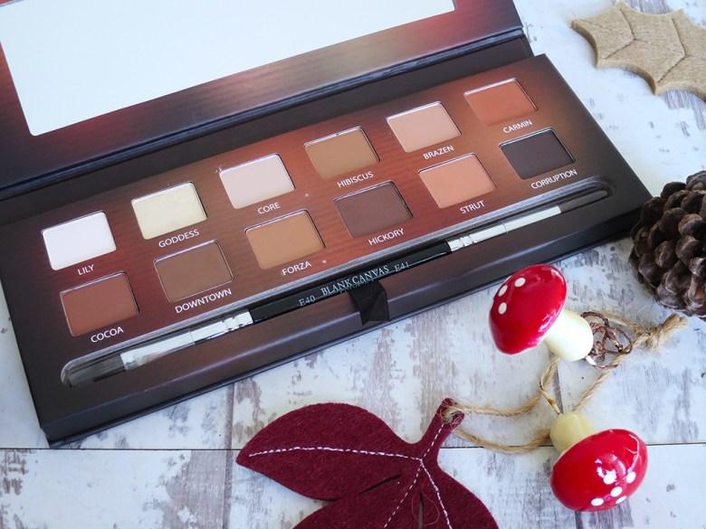 Blank Canvas Cosmetics Eyeshadow Palette One