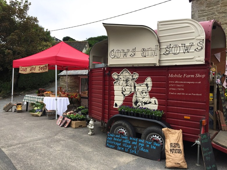 Horse Box Farm Shop Newquay