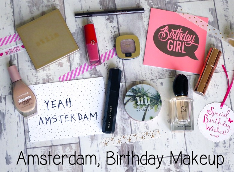 Amsterdam Birthday Makeup
