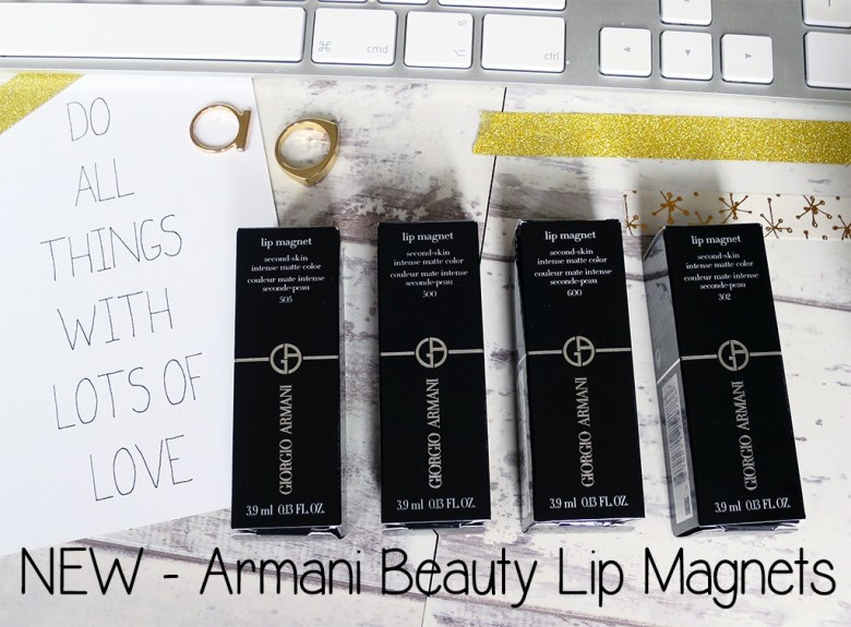 New Armani Beauty Lip Magnets