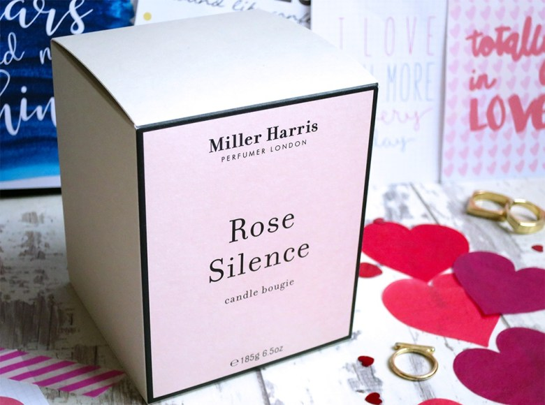 Miller Harris Rose Silence Candle