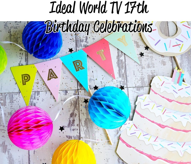 Ideal World TV Birthday Celebrations