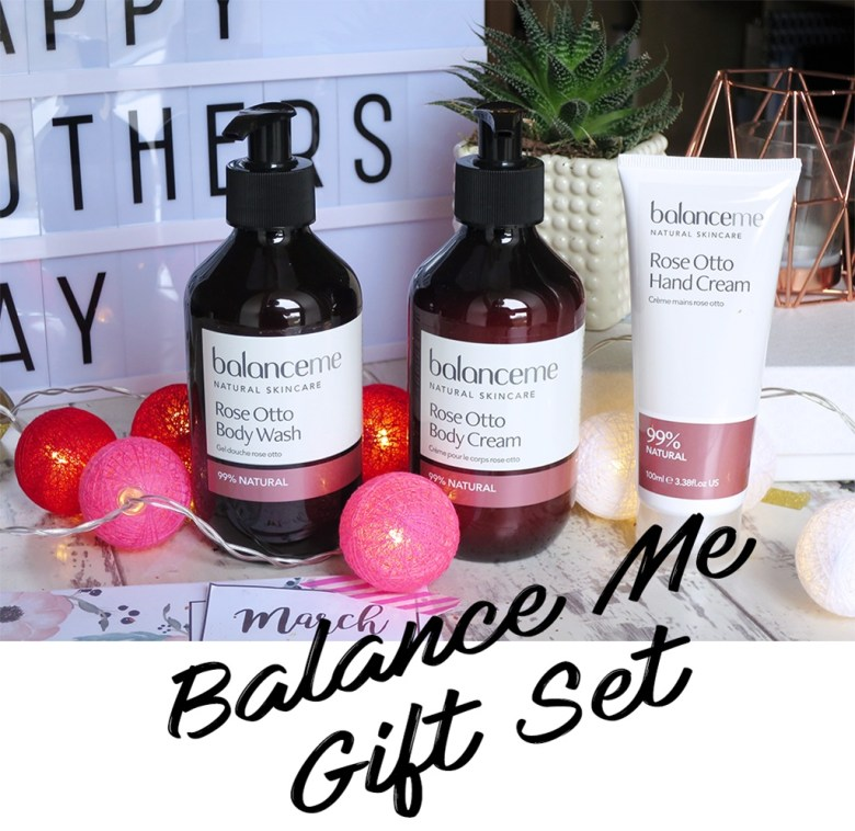 Balance Me Rose Otto Gift Set