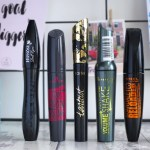 Current Mascara Line Up 2017