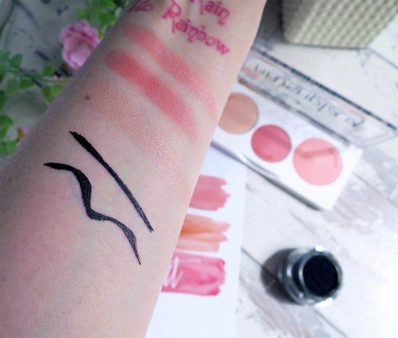 essence makeup swatches