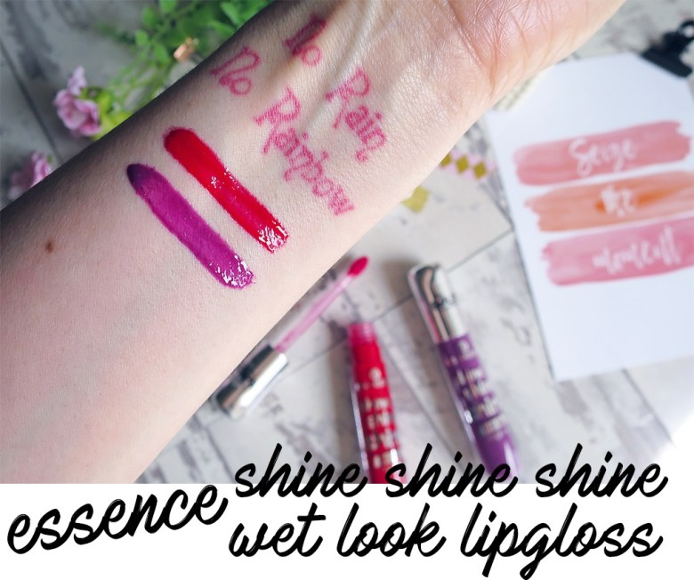 essence shine shine shine wet look lipgloss