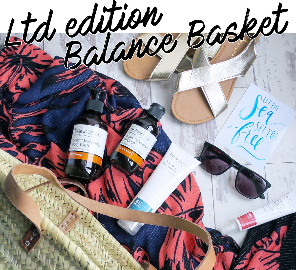 Limited Edition Balance Basket from BalanceMe - Let's talk